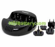CAR220 Cargador-Descargador Universal de baterías Ni-Cd-NI-MH